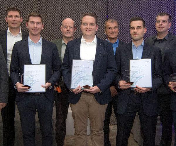 """Preisträger """"Digitalisierung im Maschinenbau"""" auf der Jubiläumsfeier 20 Jahre VDMA Fachverband Software und Digitalisierung"""