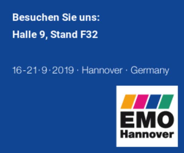 Logo der Messe EMO in Hannover
